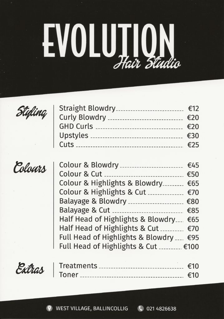 http://evolutionhair.ie/